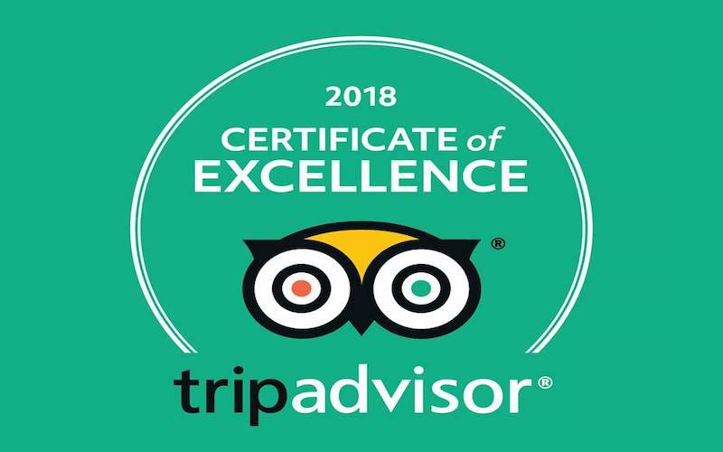 Spain is More - Certificado de excelencia de Trip Advisor